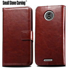For Motorola Moto C Case 5.0 inch 2017 Wallet PU Leather Phone Case For Motorola Moto C XT1750 XT1754 Case Flip Cover Back Bag(China)