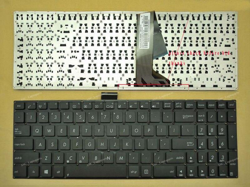 New UK keyboard fo ASUS R505 R505C R505CA R505CB R505CM S550 S550C S550CA S550CB
