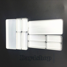 2pc Dental Bur H K File Holder Block Disinfection Endo Box Rack Sterilizer Case