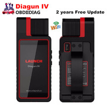 New Launch X431 Diagun IV Full System Diagnotist Tool 2 years Free Update Suppoet WIFI X-431 Diagun IV Code Scanner
