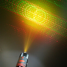 XPL-RG300 multi-pattern multi color green red yellow and golden laser pointer(China)