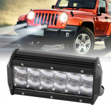 Dual Row 60W 7 Inch 5D ATV Off-road Driving Lamp Led Light Bar Spot Work Light Car off-road Auxiliary Spotlight /Floodlight