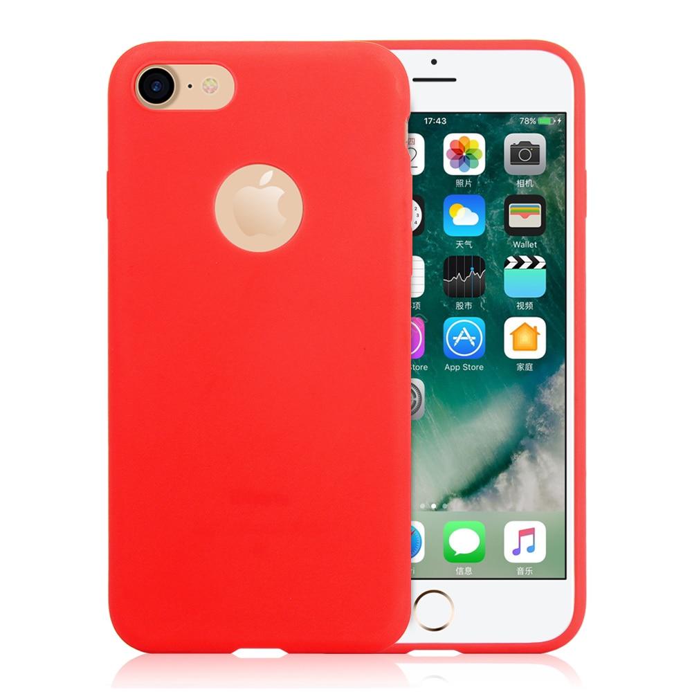 KIP71149_4_Matte Pure Color Soft TPU Case for iPhone 7