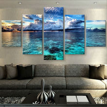 HD Print 5 pcs CALM WATERS canvas wall art painting modern Home Decor wall art print living room decor painting /PT0952(China)