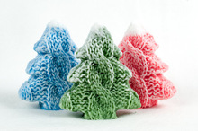 Soap mold Christmas tree knitted silicone mold silicone mould candle molds for cake decorations
