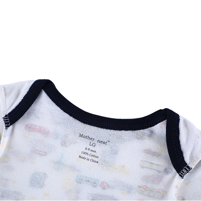 2018 Newly 100% Cotton Baby Bodysuit Boy Autumn Newborn Cotton Body Baby Long Sleeve Underwear Infant Boy Girl Pajamas Clothes (1)