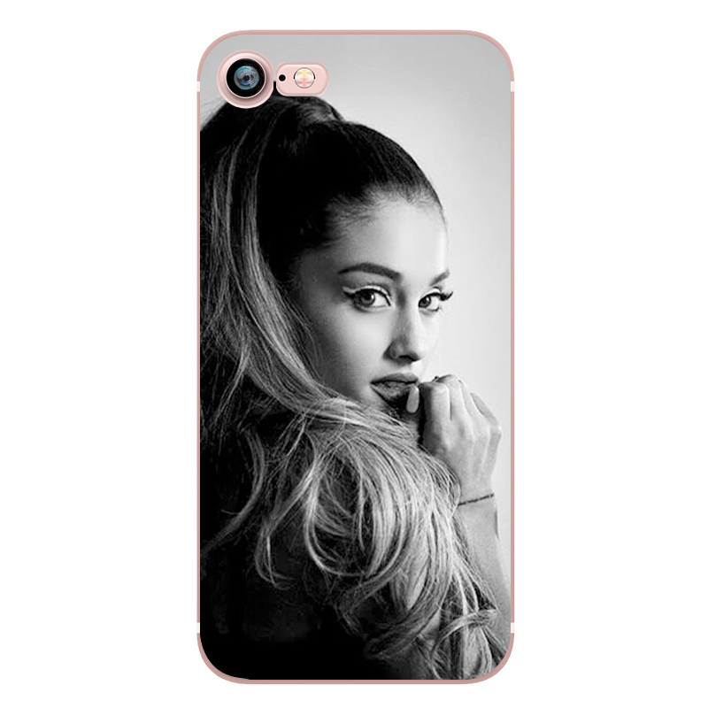 Ariana Grande Coque Dangerous Woman Everyday Beauty and the Beast Phone Cases for iphone 5s 7 6 plus 6s SE 5 Soft Clear Silicone (7)