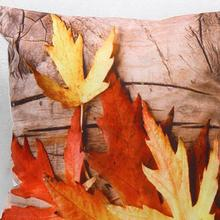 Free Shipping Hot Trade Wholesale Maple Leaf Short Plush Pillow Cushion Gift Creative Home Decorative Soft Pillow Sofa Cushion