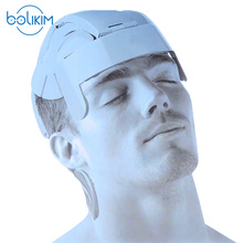 BOLIKIM Brand Humanized Design Electric Head Massager Brain Massage Relax Easy Acupuncture Points Fashion Gray Promote Hair Grow
