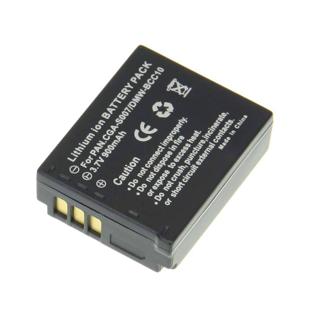 Digital Boy Real Capacity 900mAhHot Sale 1pcs Battery CGA-S007 CGA-S007 CGAS007 Rechargeable Li-ion Camera Battery For Panasonic<br><br>Aliexpress