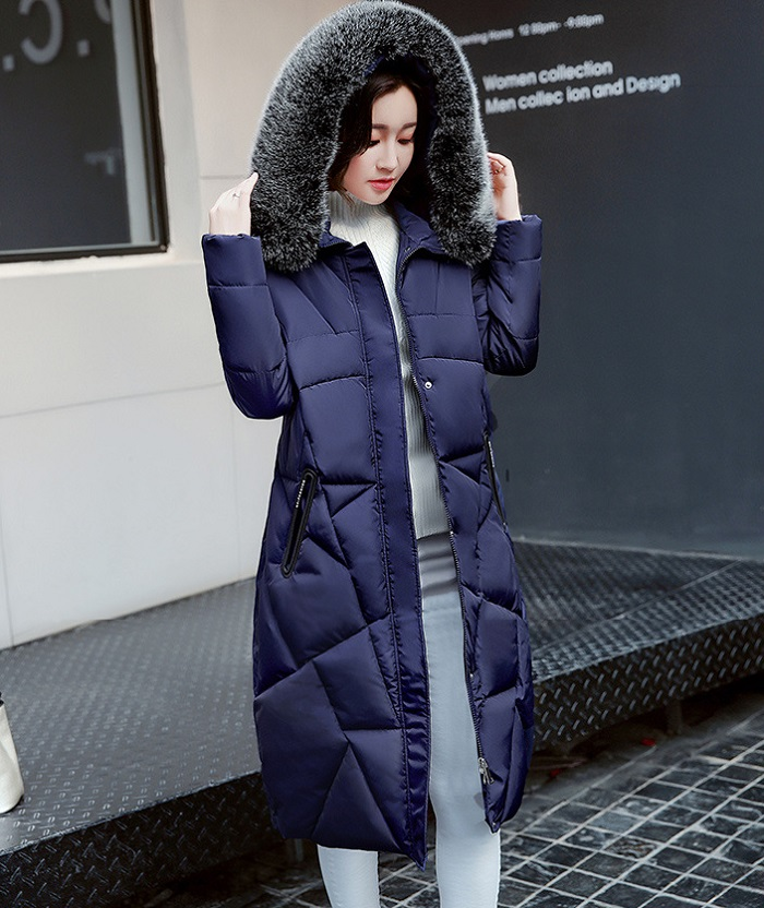 2017 Winter Women Coat Thicken Warm Long Jacket women coat girls long slim big coat jacket Down Parka+24 (2)