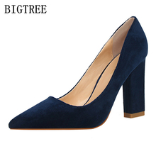top quality designer italian shoes fetish high heel pumps women pumps shoes woman bigtree shoes escarpins femme 2017 pink red