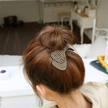 Fashion Women Hair Accessories Wholesale!New Arrival Bow Hairpins,Designer All Match Hair Barrettes for girls