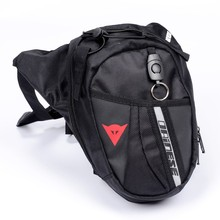 Hot sell waist Bag Waterproof Nylon Travel Bag Men Black Drop Leg bag Motorcycle Fanny Pack Waist Belt Bag