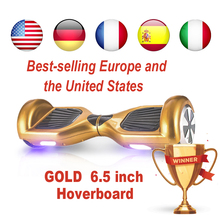 electric skateboard hoverboard dropshipping suppliers EU patinete electrico overboard trotinette oxboard self balance scooter(China)