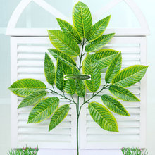 Christmas Wedding Home Garden Church Decor 70cm Artificial Ficus Fake Foliage Plant Tree Branch Green