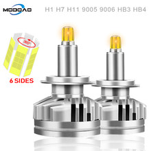 3D 360 degree 18000LM H11 Fog lights H7 LED Headlight HB3 9005 HB4 H3 880 881 Led Canbus Led Car Headlights H1 9012 Auto Lamps(China)