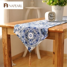 Japanese tea ceremony cloth cotton linen China tea tray mat tea cabinet table flag table runner(China)