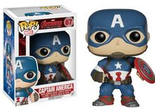 Replica Funko POP Marvel Avengers 2: Captain America Figure Model with gift box