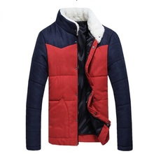 TG6072Cheap wholesale 2016 new Cultivate one's morality men's winter coat corduroy with thick cotton-padded jacket