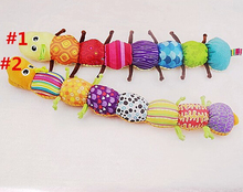 1PCS Musical Inchworm Educational Children Toys , Musical Stuffed Plush Baby Toys TOP19(China)