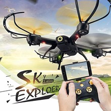 D61 D61WG RC Drone with Camera Altitude Hold Quadcopter Wifi FPV 24G 4CH RC Helicopter Resistant Aircraft 6 Axis Gyro Mini Drone