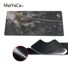 MaiYaCa The Hottest Design World of Tanks Image Mouse Pad pad Overlock Edge Big Gaming mouse Pad Send Boy Friend the Best Gift