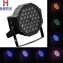 Buy Professional LED Stage Lights 36 X1w RGB PAR LED DMX Stage Lighting Effect DMX512 Master-Slave Led Flat DJ Disco Party KTV for $23.60 in AliExpress store