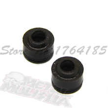 2SET Motorcycle Accessories LIFAN 125 valve stem oil seal For LIFAN 125cc LIFAN125 ENGINE PARTS(China)
