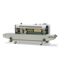 Automatic continuous plastic bag sealing machine with Coding Printer FR-900(Hong Kong)