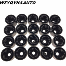 20PCS Car wheel cap tyre screws cover bolt original for VW Volkswagen POLO Tiguan Passat B5 B6 Golf Jetta MK5 aluminum alloy
