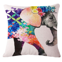 Buy Modern Home Decorative Throw Pillows Cushion Cover Animals Elephone Sofa Car Decor Almofadas 45x45cm for $3.39 in AliExpress store