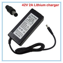 36V 2A DC Li-ion battery charger Output 42V 2A charger Used for 36V 10S 10AH 12AH 15AH 20AH Ebike lithium battery charging