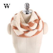 2017 Winter Warm Unisex Scarf Lovers Winter Scarves Shawls Stoles Knitted Women Scarf Collar Warme New(China)