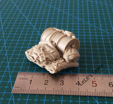 1/35 Resin Soldier World War II scenario Accessories Drums canvas bag(China)