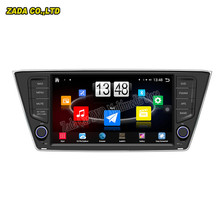 "8"" Quad Core Android 4.4 HD 1024*600 Car PC GPS Stereo Radio For Skoda Fabia Scout 2014-2015 with 16GB Flash BT AM FM wifi map"