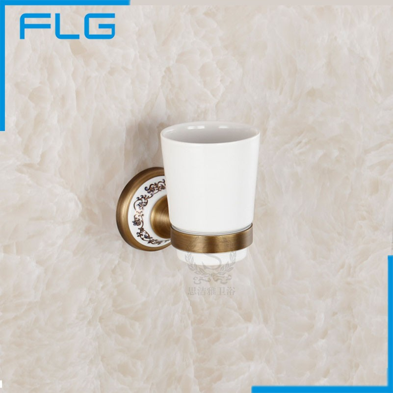 Classic Cup &amp; Tumbler Holders Brass New Arrival Limited Set Bathroom Accessories Coffee Holder Exquisite Toothbrush<br><br>Aliexpress