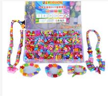 Mixed 600PCS Loose Acrylic Beads for Kid Girls Necklace&Bracelet DIY Beads Building Kit Set Educational Developmental Toys(China)