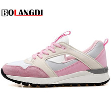 Bolangdi 2017 Breathable Women Running Shoes Spring Summer Sport Runner Lady Athletic Brand Sneakers Outdoor Shoes Zapatillas(China)