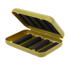 Waterproof ABS Durable Plastic Foam Fly Fishing Lure Bait Flies Hook Storage Case Cover Box Fishing Lures Tackle Accessories