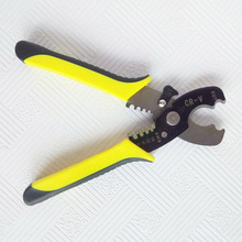 Professioanl 18cm Wire Stripper Cable Cutting Scissor Stripping Pliers Cutter 1.6-4.0mm Hand Tools --M25