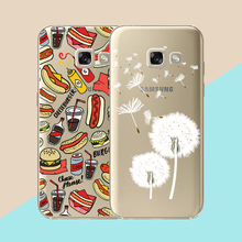Case For Samsung Galaxy A5 2017 A520 Silicone Transparent Ultra-Thin TPU Soft Cases Cover For Samsung Galaxy A5(2017)