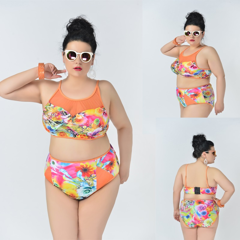 New Arrival 3XL Women Sexy Swimwear High Quality Plus Size Monokini Push Up Swimsuit Bikini Biquini Beachwear Bathing Suit<br><br>Aliexpress