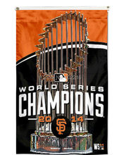 San Francisco Giants SF 2014 World Series Champions Flag 3FTX 5FT Size No.4 144* 96cm