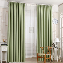 210*100cm Thickness Roman window curtain French Door curtain home decor anti-glare style candy color Polyester fiber on sale