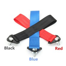 3 Color Towing Rope Tow Eye Strap Tow Loop Strap Racing Drift Rally Emergency Tool Front Rear Bumper Hook(China)