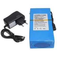 New 20000mAh Rechargeable Battery 12V Blue Li-ion Super Rechargeable Batterries Pack + EU Plug Charger(China)