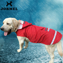 JORMEL 2017 Pet Dog Rain Coat Waterproof Clothes Hoodie Jacket Jumpsuit Apparel Dog Clothes Raincoat For Small Dogs Raincoats(China)