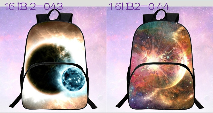 حقائب مدرسية / الكون / الفضاء/ 24 لوان للبنات 9