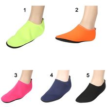 Buy Sport Socks Dance Trainers Footwear Beach Socks Shoes Aqua Socks Slippers Beach Slip Waterpark Slippers Sandals for $3.38 in AliExpress store